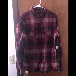 NEW WITH TAGS Tony Hawk Flannel Shirt